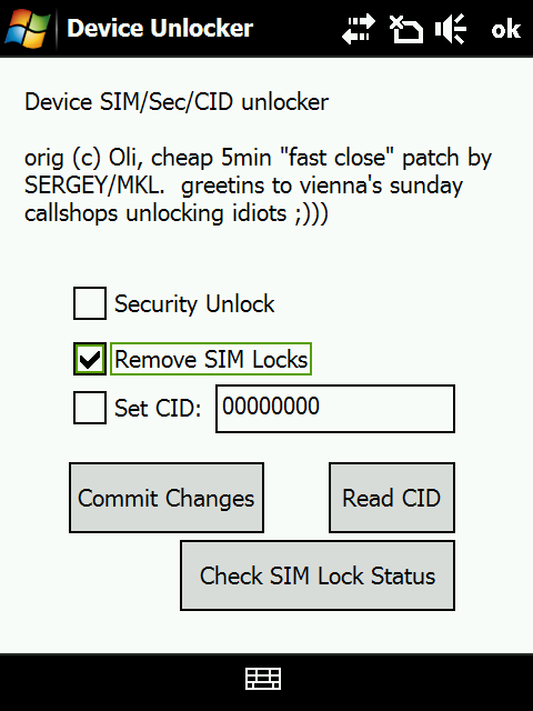 How to: SIM-unlock your Touch Diamond for free