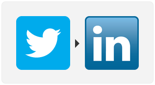 Easy way to automatically post your tweets to LinkedIn