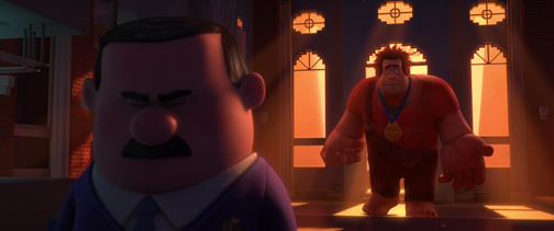 "Wreck-it Ralph's annoying flaw: Ralph receptively listens to Gene's disturbing ""shame on you"" speech."